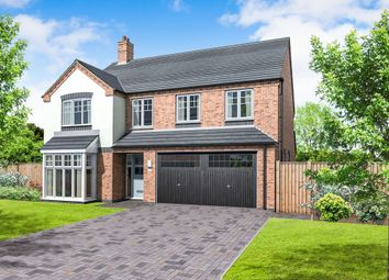 Thumbnail 5 bed detached house for sale in Plot 3 Appleby, Coton Road, Rosliston, Swadlincote