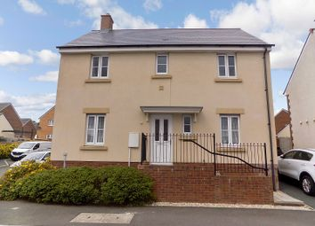 Thumbnail 4 bed detached house for sale in Ffordd Y Draen, Coity, Coity, Bridgend.