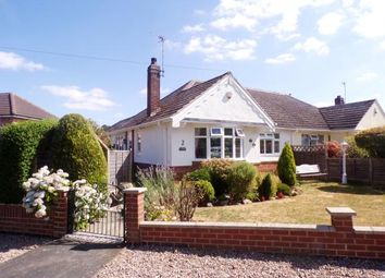 Thumbnail 2 bedroom bungalow for sale in Aintree Crescent, Oadby, Leicestershire