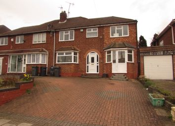 Thumbnail 4 bed semi-detached house for sale in Craythorne Avenue, Handsworth Wood