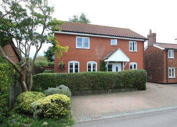 Thumbnail 4 bedroom detached house for sale in Alley Road, Kirton, Ipswich