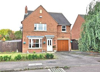 Thumbnail 4 bedroom detached house for sale in Sandleford Drive, Elstow, Bedford