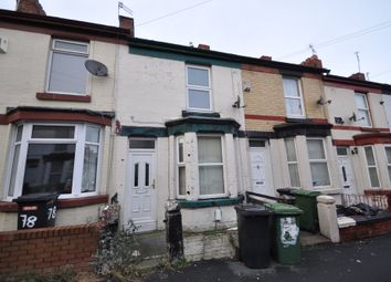 Thumbnail 2 bed terraced house for sale in Woodville Road, Birkenhead