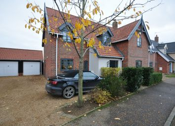 Thumbnail 4 bed detached house for sale in Diamond Close, Winfarthing, Diss