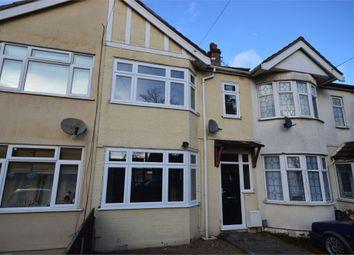 Thumbnail 3 bed terraced house to rent in Hawthorn Avenue, Rainham, Essex