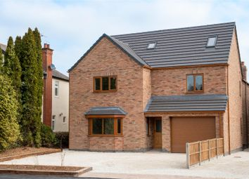 Thumbnail 6 bedroom detached house for sale in Lutterworth Road, Burbage, Hinckley