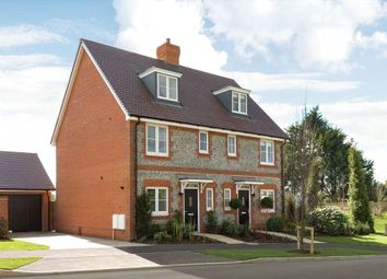 Thumbnail 3 bedroom terraced house for sale in Cresswell Park, Roundstone Lane, Angmering, West Sussex