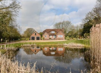 Thumbnail 4 bed detached house for sale in Brickworth Down, Whiteparish, Salisbury