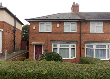 Thumbnail 3 bed terraced house to rent in Northleigh Road, Ward End, Birmingham