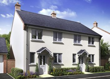 """Thumbnail 3 bed end terrace house for sale in """"Plot 80 - The Chichester"""" at Oxley Vale, Newquay"""