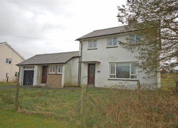 Thumbnail 3 bed terraced house for sale in Heol Elennydd, Devils Bridge, Aberystwyth