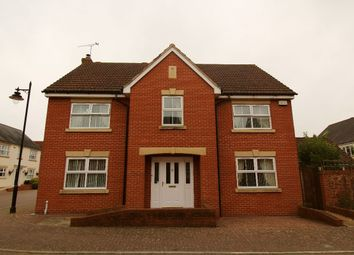 Thumbnail 4 bed detached house to rent in Healys Meadow, Cotford St. Luke, Taunton