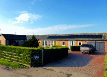 Thumbnail 4 bed barn conversion for sale in Goredike Bank, Gorefield, Cambridgeshire