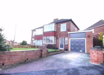 Thumbnail 3 bed semi-detached house for sale in Centurion Road, Newcastle Upon Tyne