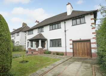 Thumbnail 4 bed detached house for sale in Wellfield Road, Folkestone