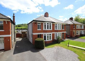 Thumbnail 3 bed semi-detached house for sale in St. Davids Crescent, Llanfaes, Brecon