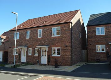 Thumbnail 3 bed semi-detached house for sale in Pyrus Court, Hadley, Telford, Shropshire
