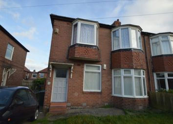 Thumbnail 3 bed flat for sale in Greywood Avenue, Fenham, Newcastle Upon Tyne