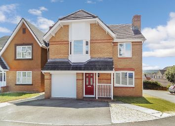 Thumbnail 4 bed detached house for sale in Llys Teg, Broadlands, Bridgend.