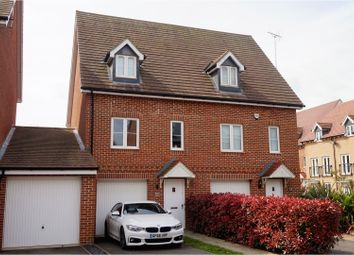Thumbnail 3 bed semi-detached house for sale in Greystones, Ashford