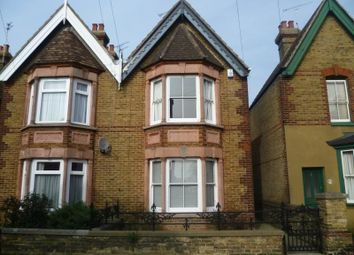Thumbnail 4 bed semi-detached house to rent in Beverley Road, Canterbury