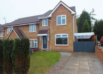 Thumbnail 3 bed property to rent in Batkin Close, Chell Heath, Stoke-On-Trent