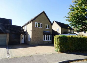 Thumbnail 4 bed link-detached house for sale in Scotts Close, Hilton, Huntingdon