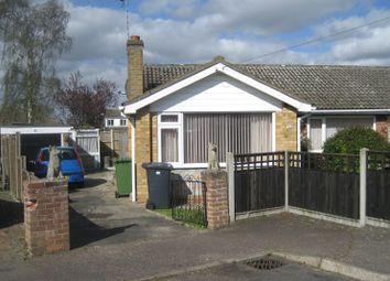 Thumbnail 3 bed bungalow for sale in Meadow Rise, Hemsby, Great Yarmouth, Norfolk