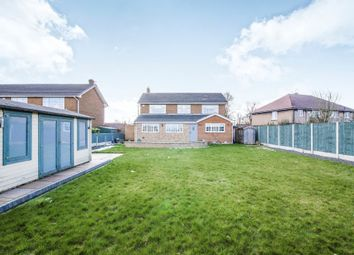 Thumbnail 4 bed detached house for sale in Skipwith Close, Loversall, Doncaster