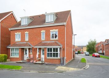 Thumbnail 4 bedroom semi-detached house for sale in Armstrong Way, Rawcliffe, York