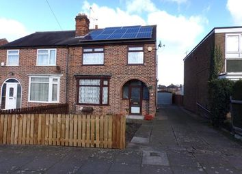 Thumbnail 3 bed semi-detached house for sale in Crown Hills Avenue, Crown Hills, Leicester, Leicestershire