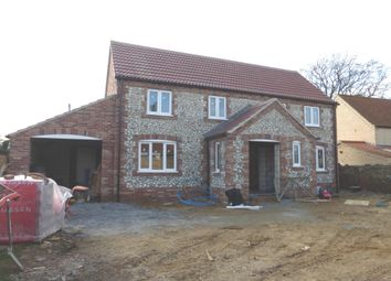Thumbnail 3 bed detached house for sale in Castle Road, Wormegay, King's Lynn