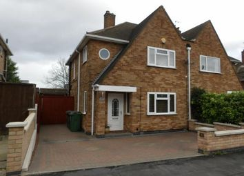 Thumbnail 3 bed semi-detached house for sale in Harrowgate Drive, Birstall, Leicester, Leicestershire