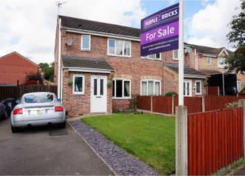Thumbnail 3 bedroom semi-detached house for sale in Caversham Road, Leicester
