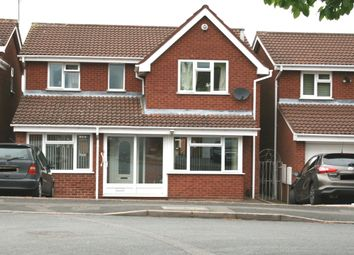 Thumbnail 4 bed detached house to rent in Elwells Close, Bilston