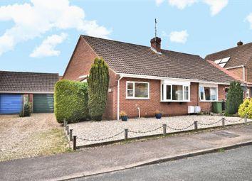 Thumbnail 2 bed semi-detached bungalow for sale in Kings Croft, Dersingham, King's Lynn