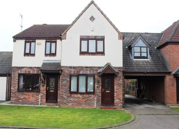 Thumbnail 2 bed terraced house for sale in Moorings Court, The Waterside, Hook, Goole