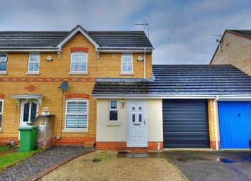 Thumbnail 3 bed semi-detached house for sale in Old Warren, Norwich