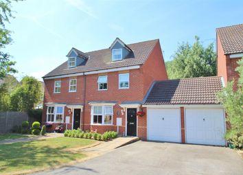 Thumbnail 3 bed semi-detached house for sale in Rustics Close, Calvert, Buckingham