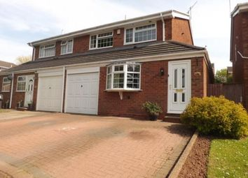 Thumbnail 3 bed semi-detached house for sale in Wrekin Drive, Lowes Hill, Bromsgrove, Worcs
