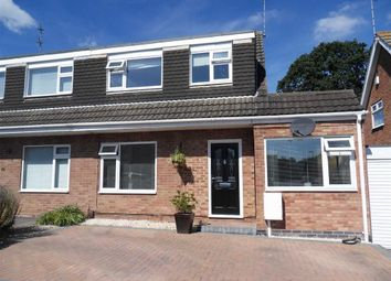 Thumbnail 4 bed semi-detached house for sale in Field Avenue, Shepshed, Leicestershire