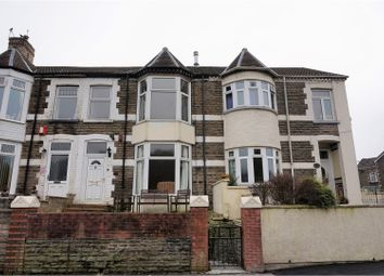 Thumbnail 4 bed terraced house for sale in The Parade, Pontypridd