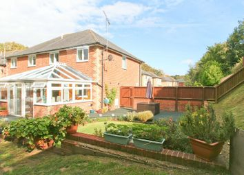 Thumbnail 3 bed semi-detached house for sale in Newbridge Close, Shanklin
