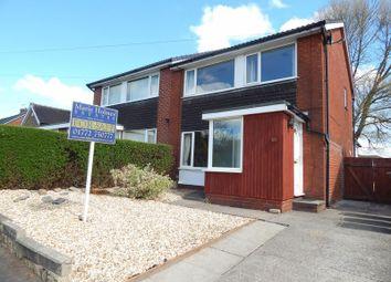 Thumbnail 3 bed semi-detached house for sale in Woodlands Avenue, Penwortham, Preston