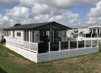 Thumbnail 3 bed mobile/park home for sale in Gimblet Rock Holiday Park, Pwllheli