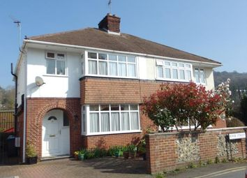 Thumbnail 3 bed semi-detached house for sale in River Street, River, Dover, Kent