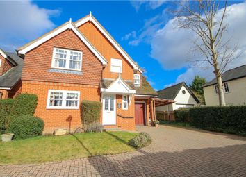 Thumbnail 4 bed detached house to rent in Victoria Road, Fleet