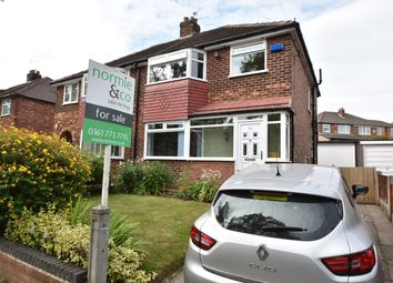 Thumbnail 3 bed semi-detached house for sale in Hazel Road, Whitefield, Manchester