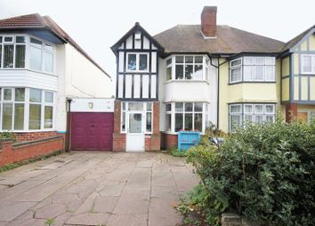 Thumbnail 3 bed semi-detached house for sale in Greenend Road, Moseley, Birmingham