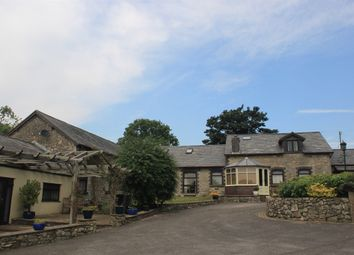 Thumbnail 6 bed barn conversion for sale in St. Mary Hill, Bridgend